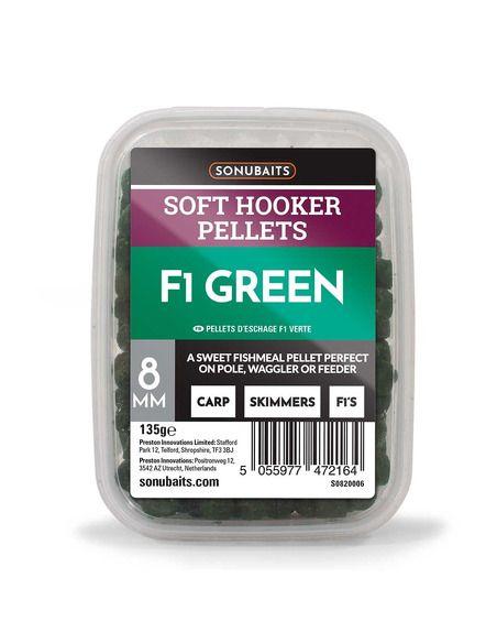 Пелети Sonubaits - Soft Hooker Pellets F1 Green - Sonubaits - Пелети за фидер - 2
