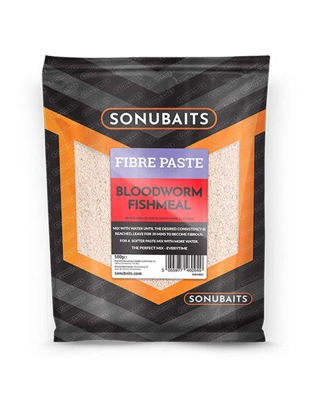 Паста за кука Sonubaits - Fibre Paste Bloodworm Fishmeal - Sonubaits - Стръв за риболов на плувка - 1