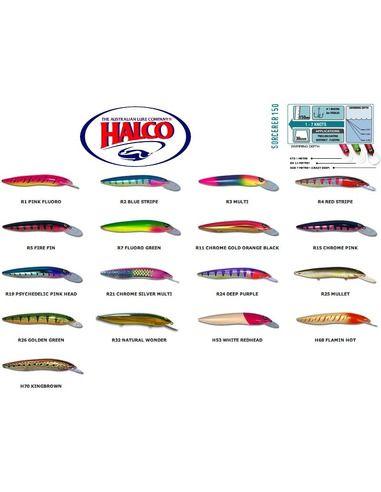 Воблери Halco Sorcerer 150 STD+XDD - Halco - Воблери за спининг - 1