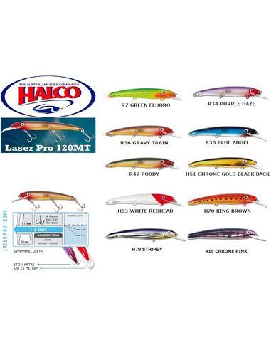 Воблери Halco - Laser Pro 120 MT - Halco - Воблери за спининг - 1