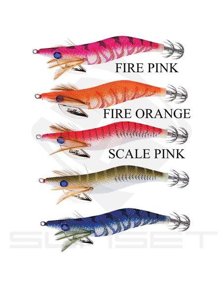 Калмариери Sunset Bad Gambas 95 - Sunset - Воблери за морски риболов - 1