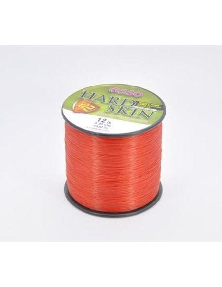 Влакно Asso - Hard Skin Fluo Red X12 - Asso - Основна линия за шарански риболов - 1