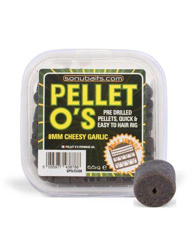 Пелети Sonubaits - Pellet O's Cheesy Garlic - Sonubaits - Пелети за шарански риболов - 1