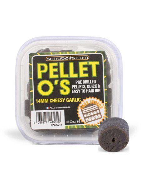 Пелети Sonubaits - Pellet O's Cheesy Garlic - Sonubaits - Пелети за шарански риболов - 2