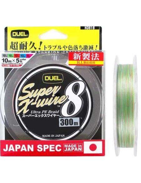 Плетено влакно Duel Super X-Wire X8 - Duel - Плетени влакна за спининг - 2