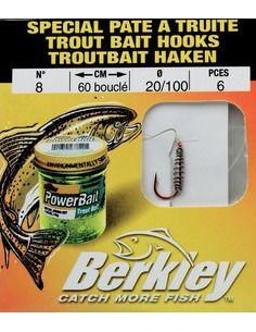 Вързани куки Berkley Trout Bait Hooks https://goo.gl/maps/5LEQaNQALzn