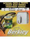 Вързани куки Berkley - Trout Bait Hooks - Berkley - Вързани куки за риболов на плувка - 1