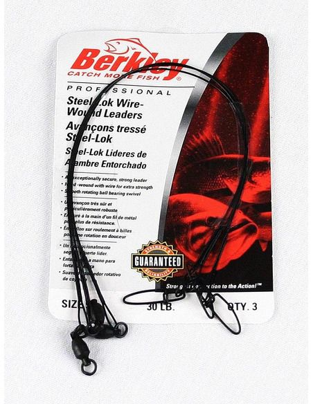 Метален повод Berkley - Steelon Wire-Wound - Berkley - Метални поводи за спининг - 1