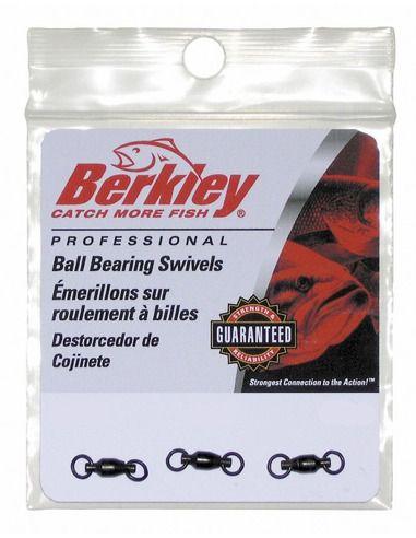 Лагерни вирбели Berkley Ball Bearing Swivels - Berkley - Вирбели и карабини за шарански риболов - 1