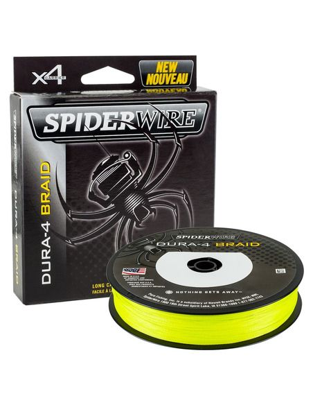 Влакно SpiderWire - Dura 4 Yellow - SpiderWire - Плетени влакна за фидер - 1