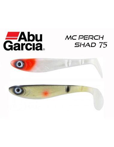 Силиконови риби Abu Garcia - McPerch Shad 75 - Abu Garcia - Силиконови примамки за спининг - 1