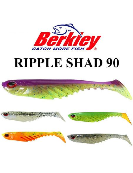 Силиконови риби Berkley - Ripple Shad 90 - Berkley - Силиконови примамки за спининг - 1