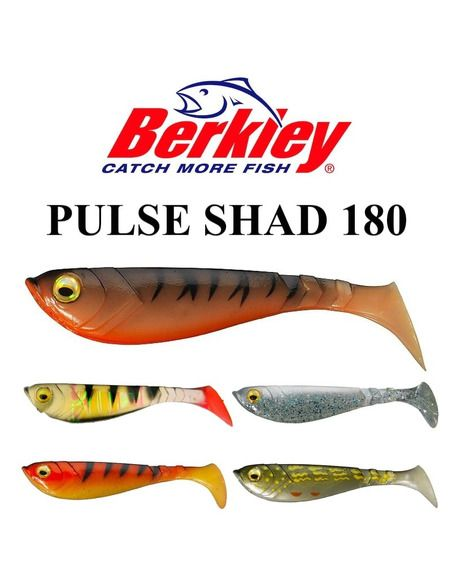 Силиконови риби Berkley - Pulse Shad 180 https://goo.gl/maps/5LEQaNQALzn