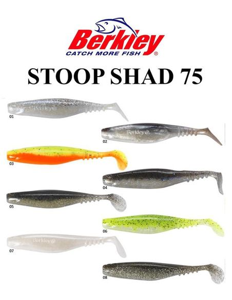 Силиконови риби Berkley - Stoop Shad 75 https://goo.gl/maps/5LEQaNQALzn