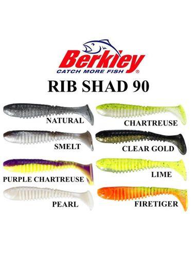 Силиконови риби Berkley - Rib Shad 90 https://goo.gl/maps/5LEQaNQALzn