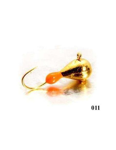 Волфрамова мормишка Shark - Raindrop Eye - Shark - Мормишки - 3