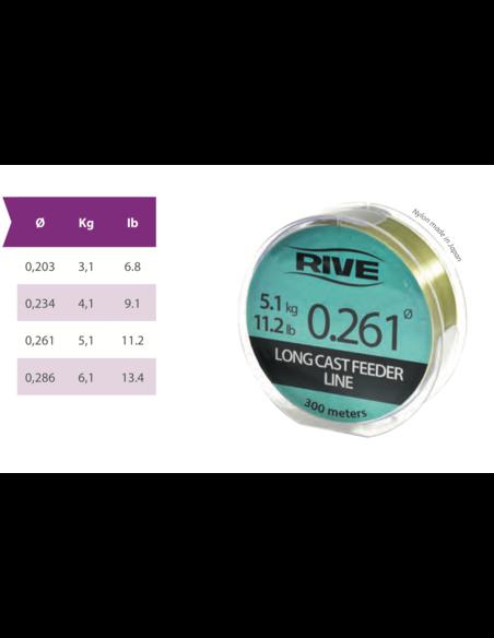 Влакно Rive - Long Cast Feeder Line - Rive - Монофилни влакна за фидер - 3