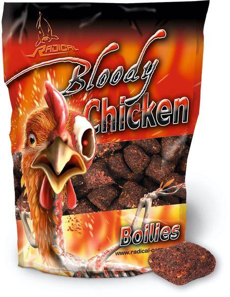 Протеинови топчета Radical - Bloody Chicken 1 КГ. - Radical - Протеинови топчета за шарански риболов - 1