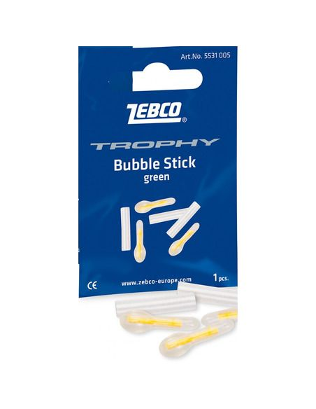 Светещи ампули Zebco - Bubble Green 4.5 MM. - Zebco - Звънци - 1