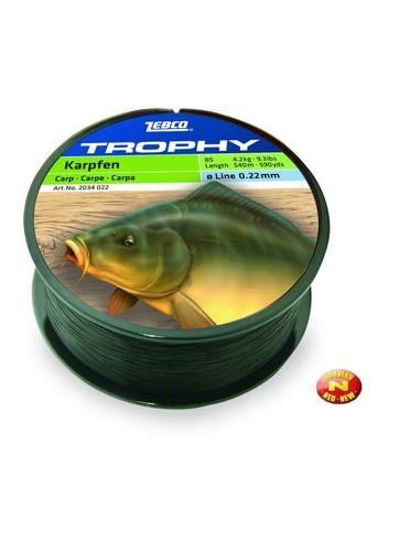 Влакно Zebco - Trophy Carp - Zebco - Основна линия за шарански риболов - 1