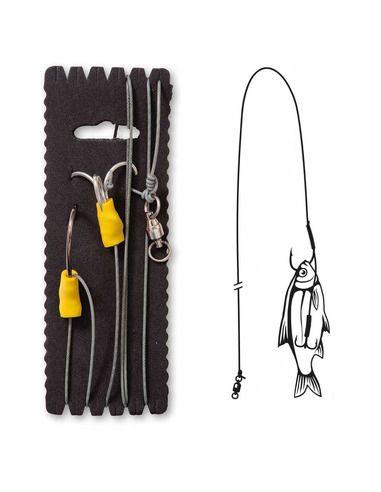 Монтаж Black Cat - Bouy and Boat Rig - XL - Black Cat - Готови монтажи за сомски риболов - 1