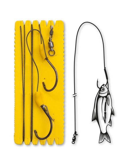 Монтаж Black Cat - Bouy and Boat Ghost Single - XL - Black Cat - Готови монтажи за сомски риболов - 1