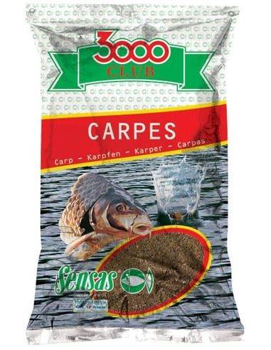 Захранка Sensas 3000 Club Carp Big Fish - Шаран 1 кг. - Sensas - Захранки за фидер - 1