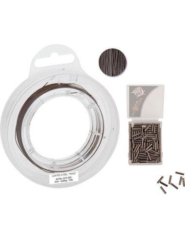 Повод метален Quantum - Coated Steel Trace 20 М. - Quantum - Метални поводи за спининг - 1