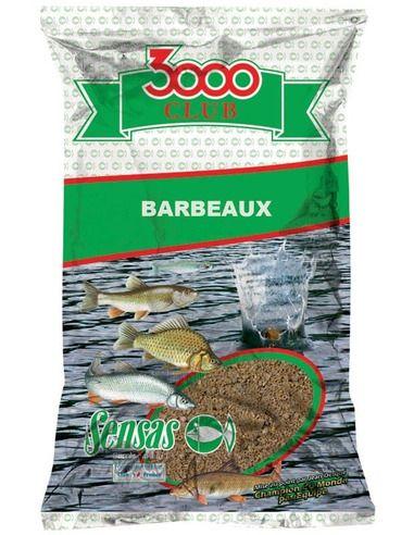 Захранка Sensas 3000 Club Barbeaux - Мряна 1 кг. - Sensas - Захранки за шарански риболов - 1