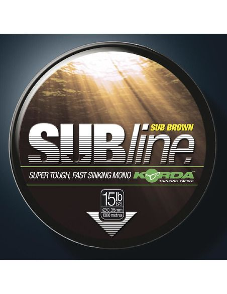 Шаранджийско влакно Korda - SUBline Brown 1000 - Korda - Основна линия за шарански риболов - 2