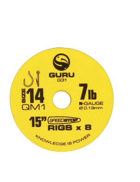 Монтаж Guru - QM1 Speed Stop Rig 38 CM. - Guru - Готови монтажи за фидер - 1