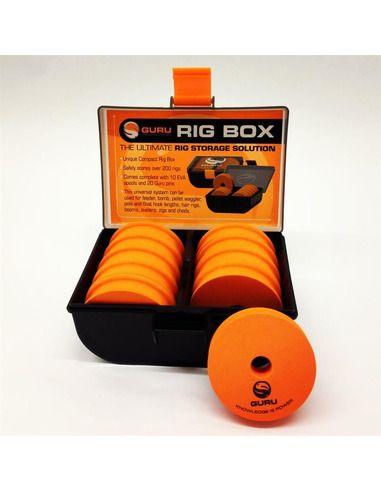 Кутия за монтажи Guru - Rig Box - Guru - Други аксесоари за фидер - 1