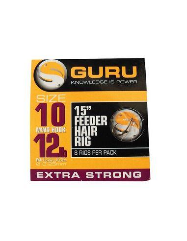 Монтаж Guru - Feeder Hair Rig - 38 CM. - Guru - Готови монтажи за фидер - 1