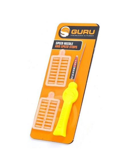 Игла и стопери Guru - Speed Needle and Speed Stops - Guru - Инструменти за шарански риболов - 1