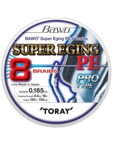 Плетено влакно Toray - Bawo Super Eging PE 8X https://goo.gl/maps/5LEQaNQALzn