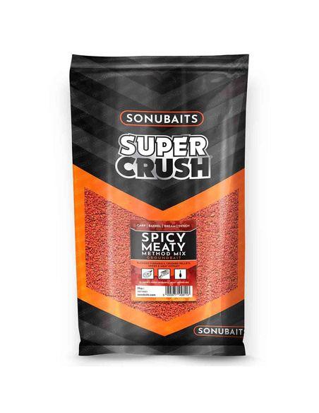 Захранка Sonubaits - Spicy Meaty Method Mix - Sonubaits - Захранки за шарански риболов - 1