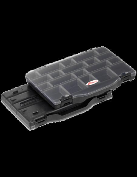 Кутия за принадлежности Panaro - Double Slim 396 - Plastica Panaro - Други аксесоари за шарански риболов - 1