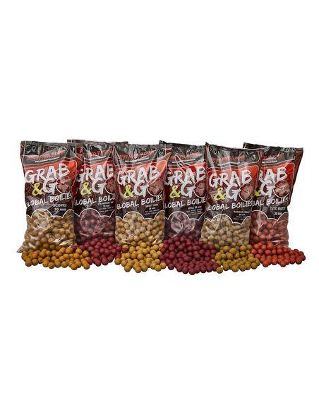 Протеинови топчета Starbaits - Global Boilies Strawberry - Starbaits - Протеинови топчета за шарански риболов - 2