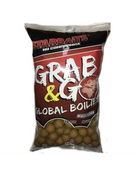 Протеинови топчета Starbaits - Global Boilies Maize Corn - Starbaits - Протеинови топчета за шарански риболов - 1