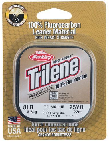 Флуорокарбон Berkley - Trilene Fluorocarbon - Berkley - Флуорокарбон за спининг - 1