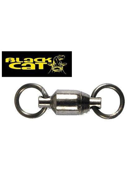 Вирбели Black Cat - Ball Bearing Swivel No. 4 - Black Cat - Вирбели и карабини за сомски риболов - 1