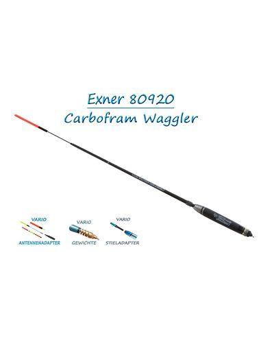 Ваглер карбонов с волфрамово утежнение Exner - Carbofram Evolution Match - Exner - Ваглери и слайдери - 1