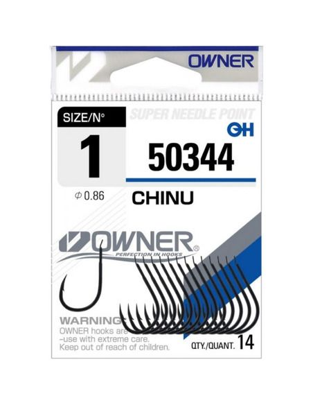 Куки Owner - Chinu Black 50344 - Owner - Единични куки - 1