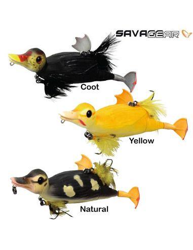 Пате Savage Gear - 3D Suicide Duck 105 - Savage Gear - Силиконови примамки - 1