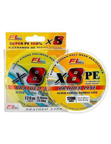 Плетено влакно FL - X8 PE 120 - FL - Плетени влакна - 1