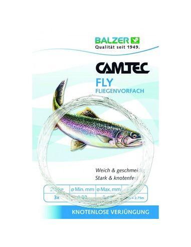 Повод мухарски Balzer - Camtec Fly Fluorocarbon - Balzer - Шнурове - 1