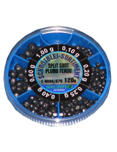 Оловни тежести Balzer - Ситни съчми 120 ГР. - Balzer - Тежести за плувка - 1