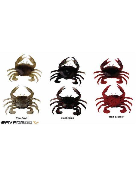 Силиконов рак Savage Gear - 3D Manic Crab 75 - Savage Gear - Силиконови примамки - 1