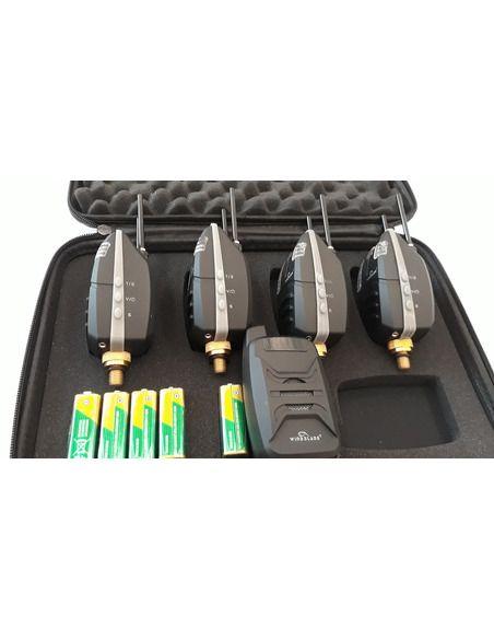 Сигнализатори комплект Wind Blade - LED 4 + 1 - Wind Blade - Сигнализатори - 2