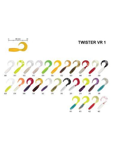 Туистери Relax - Twister 1 - 35 - Relax - Силиконови примамки - 1